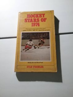 Hockey Stars of 1974 and Lively World Of Hockey paperback book lot 1968 and 1974 vintage by Fchoicevintage on Etsy