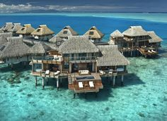 Bora Bora; Hilton, I wanna go here one day