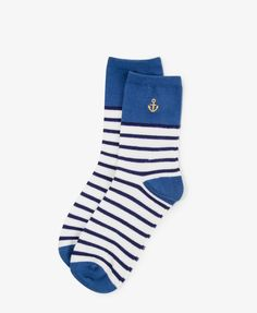 Nautical Socks. For those rare days when l actually wear them.