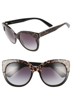 a1a4e20c574 Dolce amp Gabbana 56mm Cat Eye Sunglasses available at  Nordstrom Cat Eye  Sunglasses
