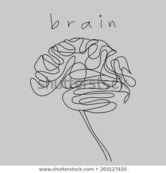 Find Brain Doodle Hand Drawn stock images in HD and millions of other royalty-free stock photos, illustrations and vectors in the Shutterstock collection. Mini Tattoos, Cute Tattoos, New Tattoos, Tatoos, Brain Vector, Brain Tattoo, Brain Art, Cute Kittens, Easy Drawings