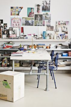 Dutch studio, Amsterdam.