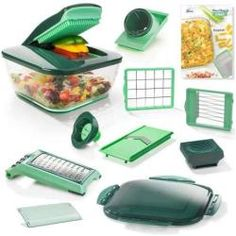 NICER The New Chef Version for Even More Fun while Cooking Healthily and Quickly, Green Nicer Dicer Plus, Genius Nicer Dicer, Nicer Dicer Magic Cube, Mandoline, Vegetable Slicer, Lame, Eat Smarter, Kitchen Gadgets, Vegetables