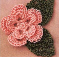 Flores tejidas ~ cositasconmesh
