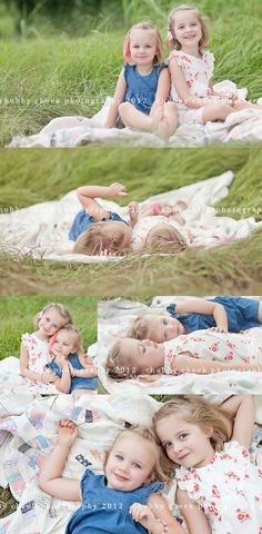 Such a cute sibling photography idea!