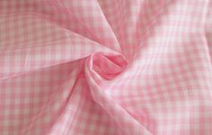 Ultra-fine count luxury yarn-dyed gingham check cotton fabric from Japan