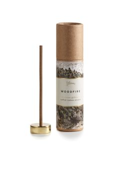 Illume™ incense gift set in woodfire