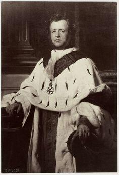 Robert Jefferson Bingham | Fotoreproductie van schilderij door Paul Delaroche: portrait du Comte de Salvandy, Robert Jefferson Bingham, Goupil & Cie, 1858 |