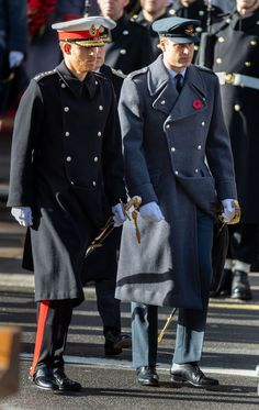 See Every Photo Of The Royal Family At The Remembrance Day Service Prince William And Harryprince