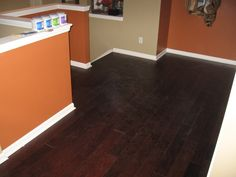 Engineered Hardwood Floors I'm getting this! Engineered Hardwood Flooring, Hardwood Floors, Light And Space, Window Coverings, Own Home, Tile Floor, Windows, House, Home Decor
