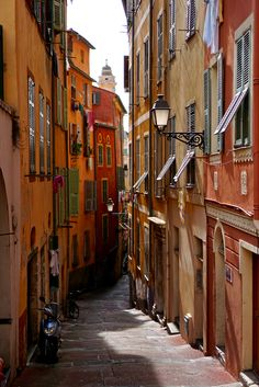 Vieux (Old Town) Nice, France.