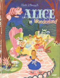 Vintage Disney Alice in Wonderland: Alice in Wonderland Book by Dean of England
