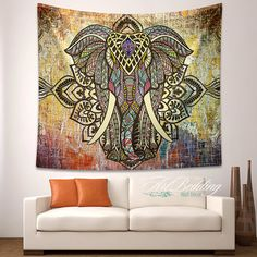 Elephant TapestryIndian wall tapestryHippie tapestry by ArtBedding