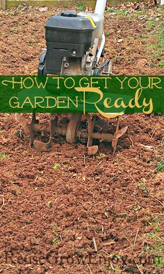 How to Get Your Garden Ready: