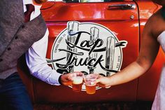 Tap Truck USA - Beer trucks for your next event Classic Trucks, Classic Cars, Bar On Wheels, Bar Catering, Mobile Bar, Wedding Rentals, Old Trucks, Craft Beer, Trailers