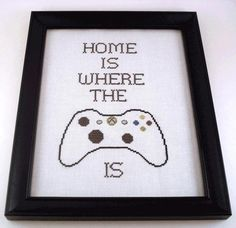 Free Gamer's Cross-Stitch Pattern
