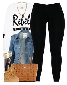 """""""Untitled #1501"""" by power-beauty ❤ liked on Polyvore featuring Zoe Karssen, Fat Face, MCM, NIKE and Kenneth Jay Lane"""