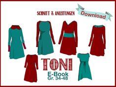 Kleid Toni vom Milchmonster bei ebookeria * DIY Schnittmuster & Nähanleitung zum Sofortdownload