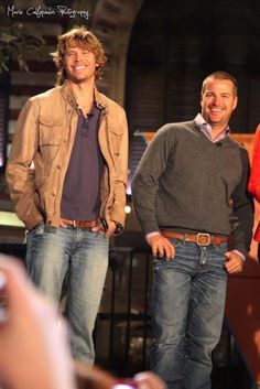 Deeks and Callen ---- They better be partnered up soon. Total opposites.... LOVE THEM!!! <3