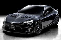 Toyota 86 GT Black Modified Wald International