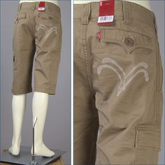 Cargo shorts rakuten | Levis, DL cargo short pants / slab twill (Levi's Red Tab Shorts SD619 ...