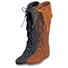 Vintage Boots: Moccasin Boots
