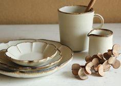 マグカップ(L) やさしい雰囲気の白マット系