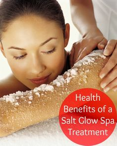 Health Benefits of a Salt Glow Spa Treatment  We offer an amazing Salt Glow Body Treatment by Aveda. You will love the way your skin feels after. #bellavitaspaday #bellavitatreatments