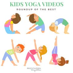 Need some great Kid Yoga videos? These are great for kid yoga in the classroom or at home.