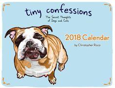 Tiny Confessions 2018 Calendar