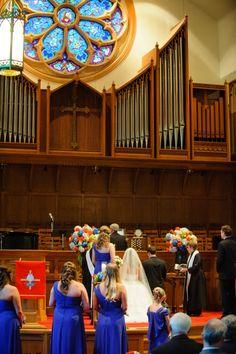 Wedding at Arlington Heights United Methodist and The Fort Worth Club