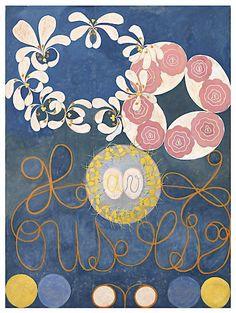 Hilma Af Klint - Childhood Group IV 1907