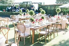 Classic Outdoor Wedding at Rancho Valencia on The Knot