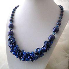Bead Jewellery, Jewelry Making Beads, Jewelry Art, Beaded Jewelry, Jewelry Necklaces, Beaded Necklace, Jewelry Design, Copper Jewelry, Pearl Jewelry