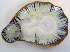 Alison Evans oyster pottery