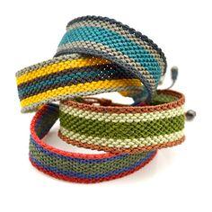 Amauta Men's Macrame Bracelet at rumisumaq.com