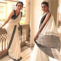 Excited to share this item from my shop: Linen saree Organic Linen by Linen sarees with zari Work and blouse piece Organic handwoven 100 count Linen saree Stitched blouse on request Handloom Saree, Salwar Kameez, Onam Saree, Indian Dresses, Indian Outfits, Pakistani Outfits, Lehenga, Sari Dress, Simple Sarees