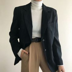 Star Fashion, 90s Fashion, Korean Fashion, Fashion Outfits, Fashion Trends, Blazer Fashion, Fashion Women, Fashion Ideas, Hipster Outfits