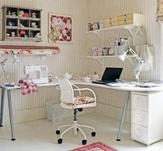 Dicas para decorar e organizar o ateliês de costura | Blog da Construção