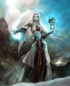 The Mercurian Sorceress by ~engkit on deviantART