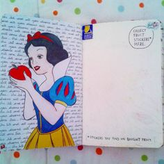 snow white, disney, and wreck this journal image