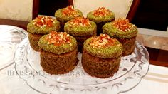 gâteau tunisien droo sorgho dattes praline noisette
