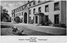 Dreadnought Seaman's Hospital in Greenwich, c1890