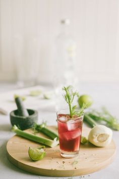 Cranberry Fennel Refresher Cocktail