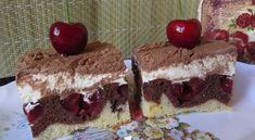Krémes cseresznyés sütemény | Receptkirály.hu