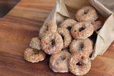 Grain Free Apple Spice bundt or donuts. Uses Apple Tea and Swerve to sweeten. Can use Almond OR coconut flour!