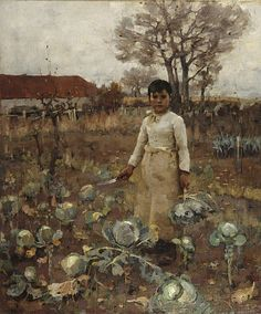 A Hind's Daughter, by Sir James Guthrie Greenock, 1883