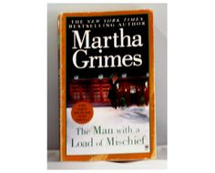 """Author Martha Grimes' series with detective Richard Jury is truly wonderful and thought provoking. Start with the first one, """"The Man with a Load of Mischief"""" and read all of them. The titles come from the names of pubs in England, where the mysteries are set."""