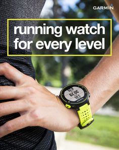 Whether you're a beginner or seasoned pro, Garmin has a watch that fits your needs. From step counting to full on running dynamics, live tracking and smart notifications, Garmin's got a watch for when it's time to pull it together and beat your yesterday. Visit Garmin.com to browse the selection today.