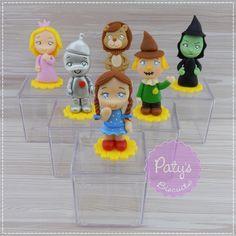 Caixinhas decoradas O Mágico de Oz | Paty s Biscuit | Elo7